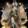 創作・オリジナルキャラクター。九尾の「銀水」。とってもお気に入りです。