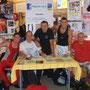 Gaetan, Bruno Herisson du Caen Etudiants Club, Cédric, Xavier et Didier