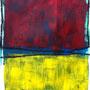 irrsee 5 (50x70; acryl+kohle auf papier); 2015