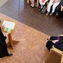 Pfarrerin Gross mit Dankesworten