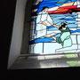 Das Kirchenfenster: Der sinkende Petrus
