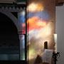 Die Farben des Kirchenfensters in Jestädt