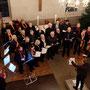 Der Kirchenchor Jestädt mit Marlene Gimpel