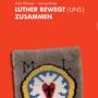 Lutherkarte mit einer Knüpfarbeit von Pfr. Rainer Koch