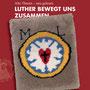 So sieht die Lutherkarte nun aus, Vorderseite