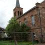 Kirche Frieda, Ostseite
