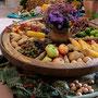 Die Früchte aus Garten, Feld und Flur zum Erntedank