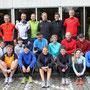 Teilnehmer der Marathonvorbereitung vorm Köln Marathon
