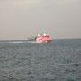 自分が乗った船が、(画像撮影R氏)