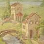 Старая Италия. Фрагмент. Барельеф, роспись.