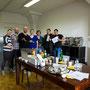 """Die ersten Teilnehmer der """"kaffeeschule Hamburg"""""""