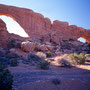 North & South Window. Arches Nationalpark/Utah.