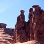 The Three Gossips. Arches Nationalpark/Utah.