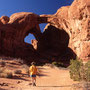 Double Arch. Arches Nationalpark/Utah.