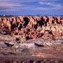 Einsamer Pick up unterwegs vor dem Fiery Furnace. Arches Nationalpark/Utah.
