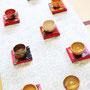「第六回天祭一〇八」増上寺(東京) 2016 撮影:本宮誠 抹茶碗:津田友子