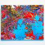 「僕は神様に花束をささげる/I offer flowers to the gods」65×83cm(F25号) 2016