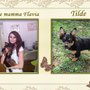 ottobre 2013 - anche Tilde è stata adottata e si gode le coccole della sua mamma, Flavia...