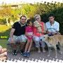 4 ottobre 2014 - Sissi (ex Berta) dolce cucciola di mamma Emma, adottata da mamma Marcella, papà Marco e la piccola Maria Pia: sii felice e fai la brava!!!...