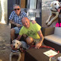 29 agosto 2015 - Aura è stata adottata e sono venuti da Venezia per prenderla e portarla a casetta...sii felice e fai la brava!!!