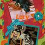 settembre 2013 - anche Lory è stata adottata: eccola felice e coccolata, insieme a Luciana e Luna...