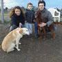 gennaio 2014 - Manu, emigrata dalla Sicilia, passata in canile...ora è stata adottata da una splendida famiglia ed ha anche trovato un amico peloso con cui giocare!!!