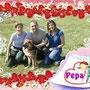 """10 maggio 2014 - Pepa, grazie al lavoro di Manuela e a due splendidi adottanti, ha trovato casetta e, da ora, la sua vita sarà tutta """"coccole e amore""""... Buona vita Pepa!!!"""