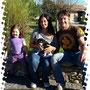 4 ottobre 2014 - Memole, la birbante (menava a tutti i suoi fratellini) è stata adottata: eccola in un ritratto di famiglia, con mamma Carolina, papà Andrea e la piccola Nicole che sarà la sua compagna di giochi preferita... buona vita cucciola!!!