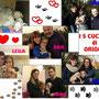 Dicembre 2015: i 5 Cuccioli di Oriolo: grazie all'amore e all'inesauribile impegno di zia Bea...tutti loro hanno ricevuto uno splendido regalo di Natale: una casa e tanto amore e coccole per sempre!!!