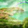 山笑う  色づいた春の山を 「山笑う」と言います。 自然の表情が笑っていると 私たち人間も なんだか 笑顔になります。