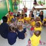 Beim Einsingen ... unsere Kinderchöre