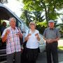 Prost. Es freut uns, dass unsere Senioren auch mitgekommen sind!!! Alois und Stefanie Karl und der Flori.