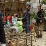 Filmarbeiten während des Historischen Festwochenendes ... ein Betrag dazu wurde im SWR-Fernsehn ausgestrahlt