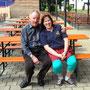 Ehrenvorstand Flori und unsere Ingeborg