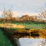 Naturlandschaft: Ölmalerei auf Leinwand