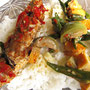 Nasi Ikan (Reis mit Fisch).