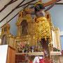 Ein Besuch in der Kirche.