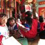 Besuch einer Schulklasse. (Eng-An-Kiong-Tempel)