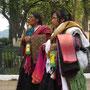 Inigene Frauen im Parque Central.