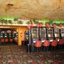 Viele Slotmaschinen.