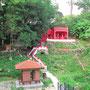 Tempel in unserer Nachbarschaft in Relau.