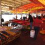 Der Fischmarkt Mercado Fluvial, ist ein schöner Markt direkt am Flußufer nahe dem Stadtzentrum.