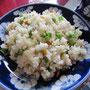 Der wohl traurigste gebratene Reis Vietnams.