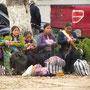 Auf dem Parque Central verkaufen viele indigene Frauen aus den umliegenden Dörfern ihre Handarbeiten.
