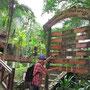 Willkommensschilder am Eingang zum Taman Negara..