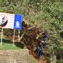 Illegaler Abstieg vom El Morro. Schilder haben hier keine Wirkung.