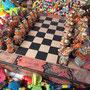 Souvenirschachspiel im Parque Lineal del Sur La Tebaida.