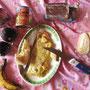 Frühstück in unserem Penthouseapartment.