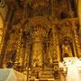 Goldig war der Barock. Der Altar der Iglesia San Jose. (Casco Antiguo)