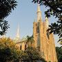 Die Katholische Kathedrale.